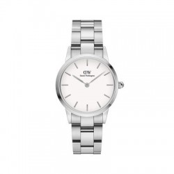 DW ICONIC LINK 28MM SILVER