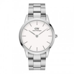 DW ICONIC LINK SILVER 40MM