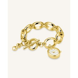 The Oval Charm Chain Oro